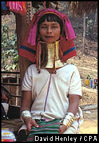 Long neck Padaung woman